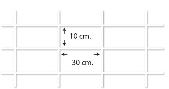 ตัวอย่างไวร์เมช Wiremesh ตา 10*30
